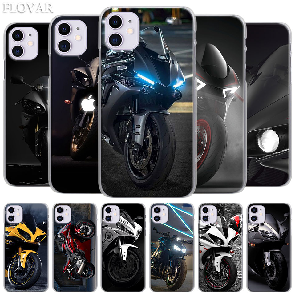 Best Cool motorcycle Case for Apple iPhone 11 Pro 11 Pro MAX X XR XS MAX 7 8 6 6s Plus 5S SE Hosing Cover Coque
