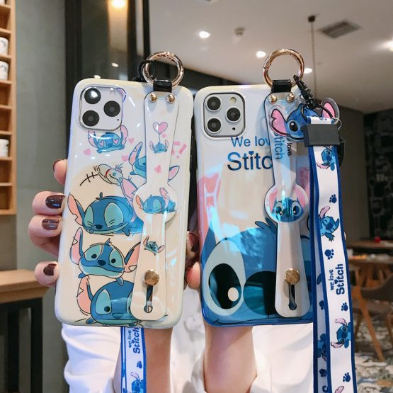 Stitch Phone Case for IPhone 11 Pro Max XR XS Case Cute Silicone Cover Stitch Phone Case for IPhone 11 Pro Max XR XS Case Cute Silicone Cover for IPhone 7 8 6s Plus Phone Case Cartoon Soft TPU Funda.