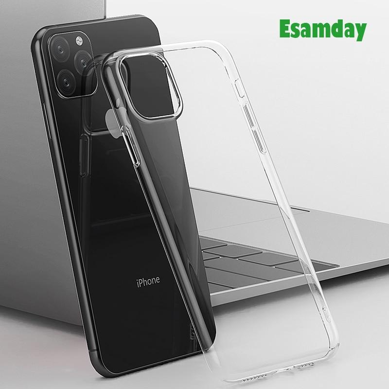 Luxury Clear Soft TPU Case For iPhone 11 Pro Max 7 8 6 6s Plus 7Plus 8Plus X XS MAX XR Transparent Phone Case For 5 5s SE 6sPlus