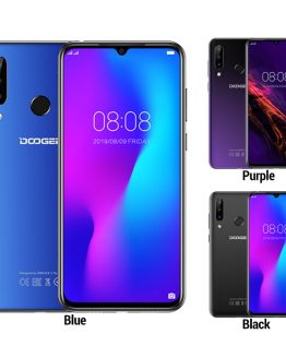 "Doogee N20 4G Smartphone 6.3"" Waterdrop Screen Mobile Phone 4GB+64GB Octa Core 16MP Triple Rear Cameras 4350mAh 10w Quick Charge"