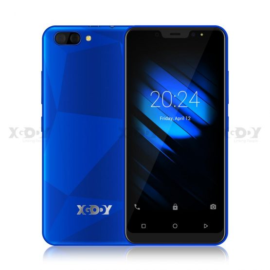 """3G Smartphone Android 9.0 Quad Core MTK6580 5.0"""" Screen 1GB RAM 16GB ROM Dual Cameras Cell Phone of Xgody X27"""