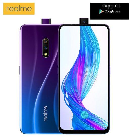 OPPO Realme X 6.53 Inch FHD+ AMOLED 3765mAh 6GB RAM 64GB ROM OPPO Realme X 6.53 Inch FHD+ AMOLED 3765mAh 6GB RAM 64GB ROM Snapdragon 710 Octa Core 2.2GHz 4G Smartphone.