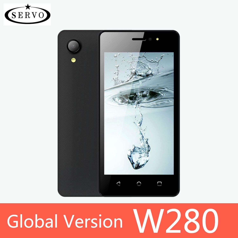 "SERVO Smartphone W280 Quad Core 2800mAh Android 7.0 cellphone GPS 4.5"" Screen MTK6580M ROM 4GB Camera 5.0MP WCDMA Mobile Phones"