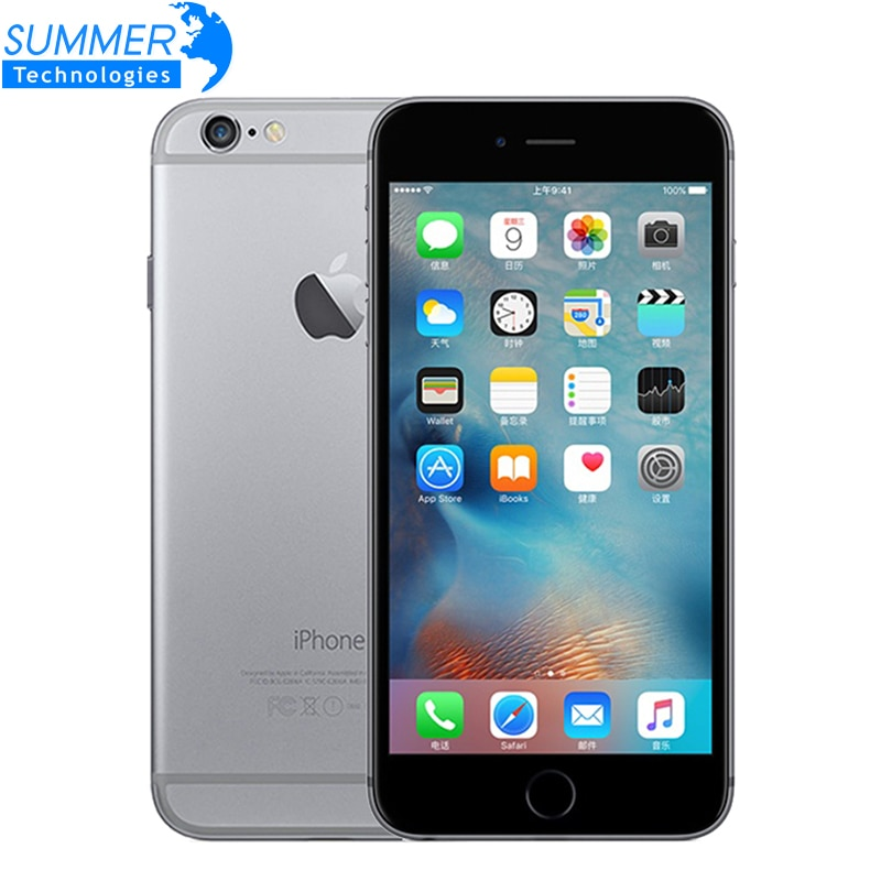 "Original Unlocked Apple iPhone 6/iPhone 6 Plus Mobile Phone 4.7""/5.5"" 1GB RAM 16/64/128GB ROM IOS Used SmartPhone"