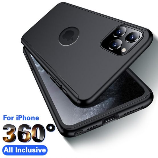 360 Full Cover Phone Case For iPhone 11 X XR XS Max 5 6 6s 7 8 Plus 360 Full Cover Phone Case For iPhone 11 X XR XS Max 5 6 6s 7 8 Plus Protective Cover For iPhone X XR 11 Pro max Case With Glass.