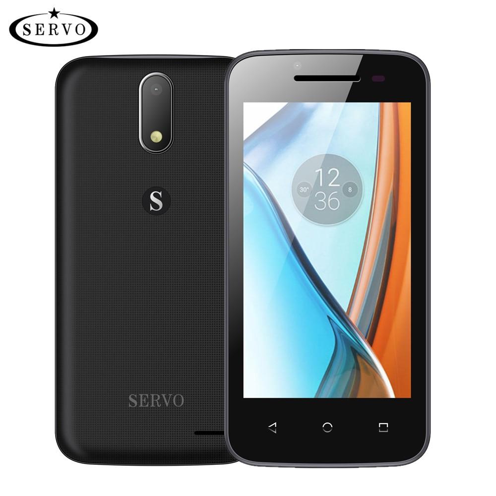 """Original Phone SERVO H1 4.5"""" Android 6.0 Spreadtrum7731C Quad Core ROM 4G Dual Sim smartphone Camera 5.0MP GSM WCDMA cell phones"""