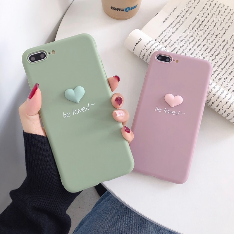 Cute 3D Fruit Soft Silicone Case For Etui iPhone 6 6S 7 8 Plus X XR XS Max 11 Pro Max Soft Silicone Case Coque