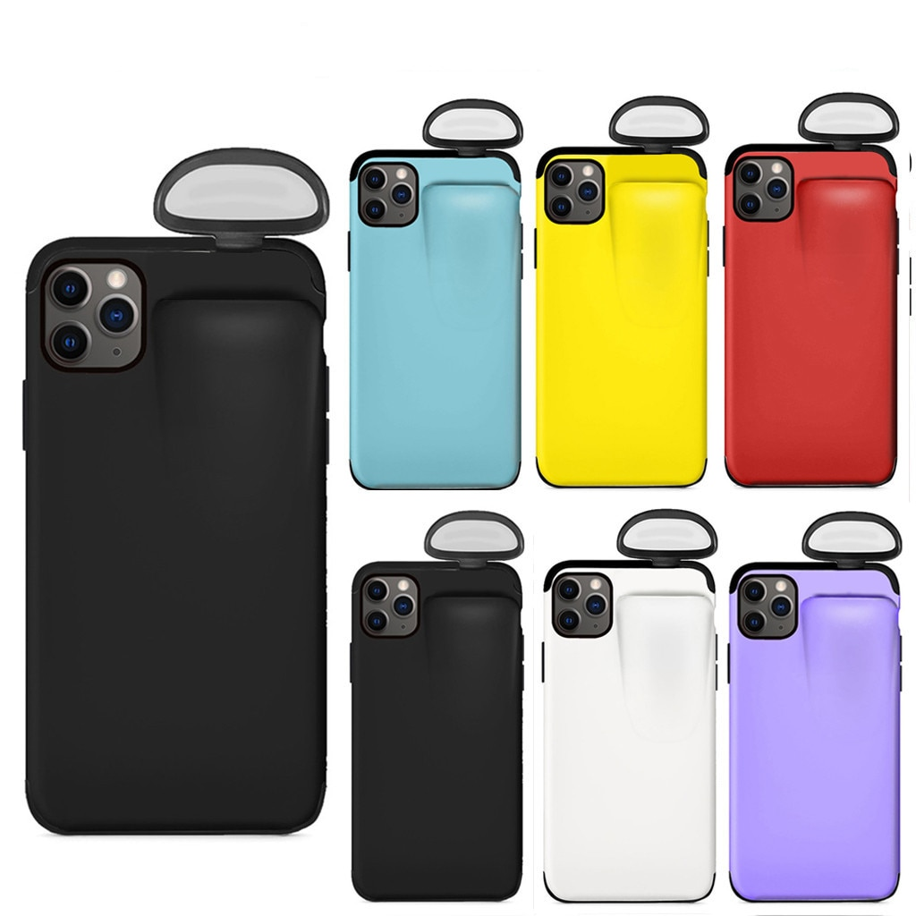 CARPRIE New 2 in 1 Wireless Headset Set Protection Phone Case Cover for IPhone X /XS /11/11 Pro/Xs Max /11 Pro Max For AirPods