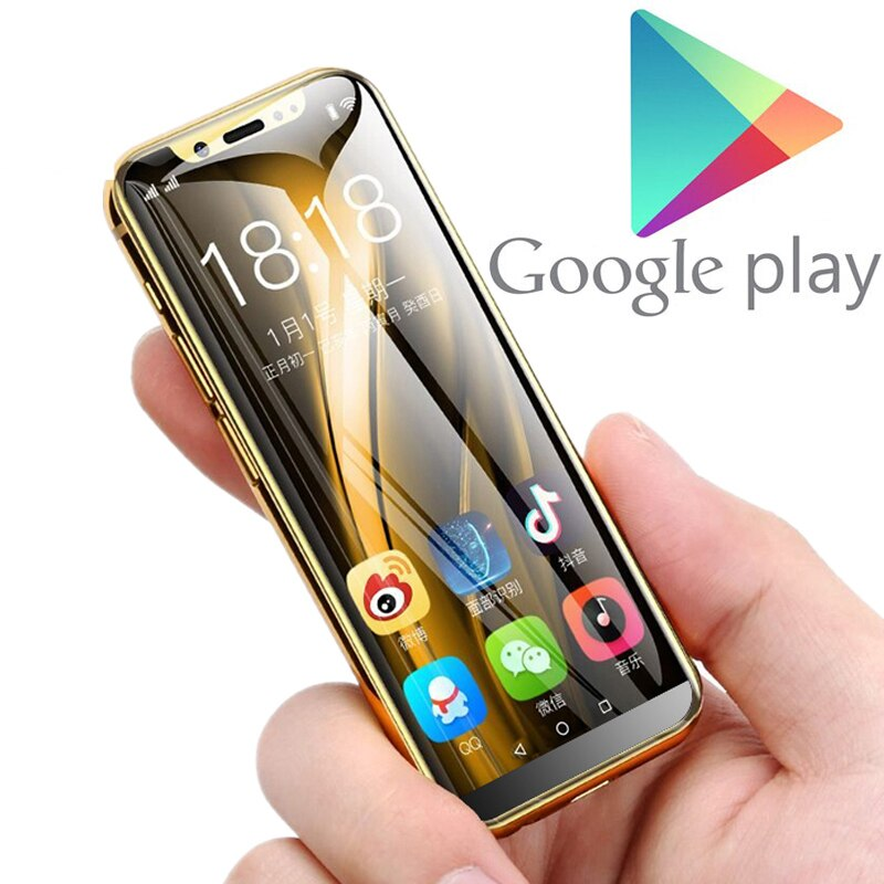 "Support Google play MTK6580 Quad Core android 8.1 3G smartphone 3.5"" small mini mobile phone 2GB RAM 16GB ROM Dual sim K-TOUCH"