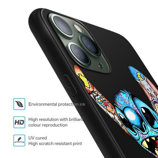 XIX for Funda iPhone 11 Pro Case 5 5S 6 6S 7 8 Plus X XS Max Tattoo Cartoon XIX for Funda iPhone 11 Pro Case 5 5S 6 6S 7 8 Plus X XS Max Tattoo Cartoon for Cover iPhone 7 Case Soft TPU for iPhone XR Case.