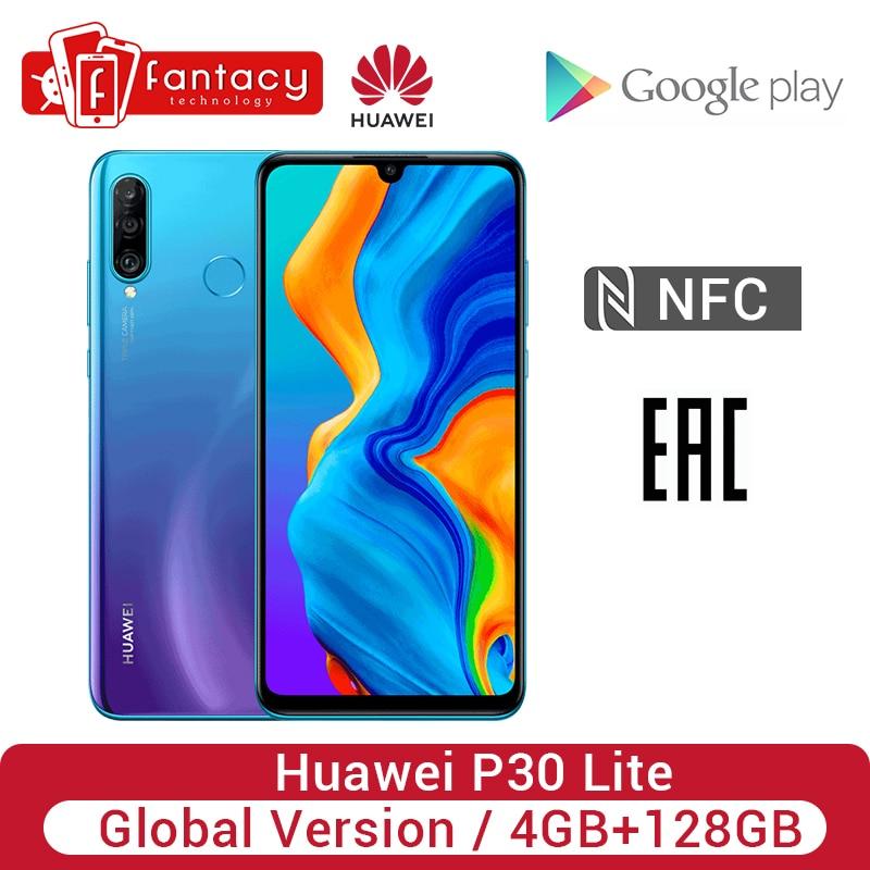 Global Version Huawei P30 Lite 4GB 128GB Smartphone 24MP Triple Cameras 32MP Front Camera 6.15'' Full Screen 18W QC NFC Version