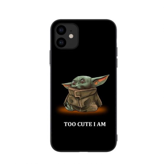 Phone Case For iPhones 11 Pro Max New Cute Baby Yoda Meme Soft silicone Phone Case For iPhones 11 Pro Max New Cute Baby Yoda Meme Soft silicone Tpu Cover For iPhones 6 6s 7 8 Plus X XR XS MAX.