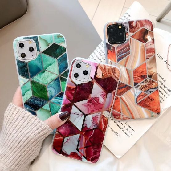 Luxury Marble Plating Case For iPhone 11 Pro Max X XR Xs Max Soft TPU Phone Luxury Marble Plating Case For iPhone 11 Pro Max X XR Xs Max Soft TPU Phone Case For iPhone 6 6s Plus 7 8 Plus IMD Back Cover.