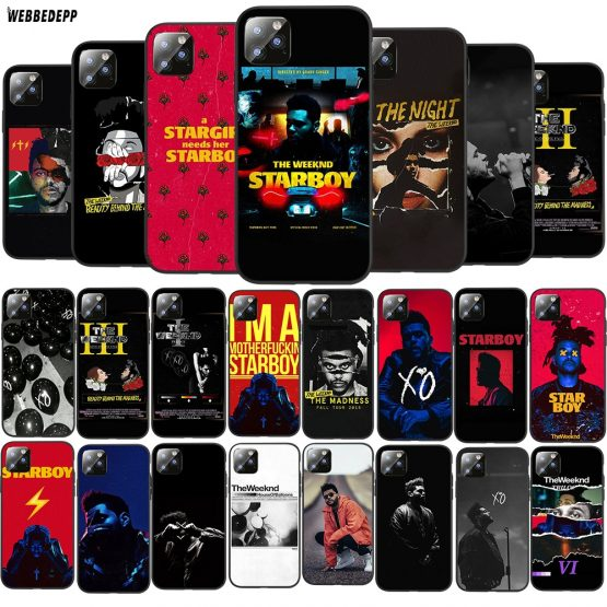 Q14 The Weeknd TPU Phone Cover for Apple iPhone 6 6S 7 8 Plus 5 5S SE X XS 11 Pro MAX XR silicone Soft Case
