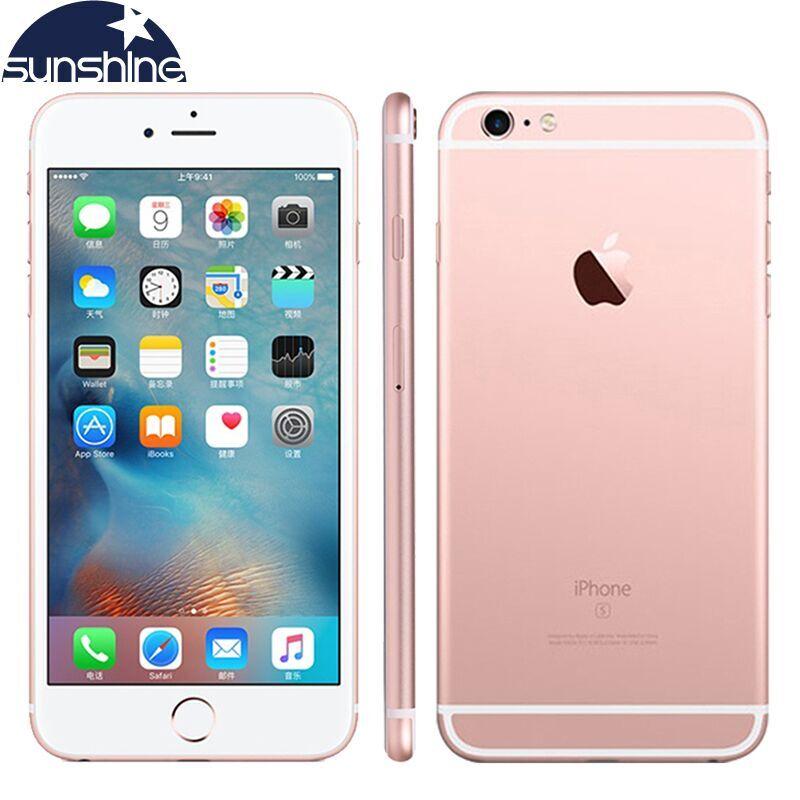 Original Unlocked Apple iPhone 6S Mobile phone Dual Core 2GB RAM 16/64/128GB ROM 4.7'' 12.0MP Camera 4G LTE Smartphone