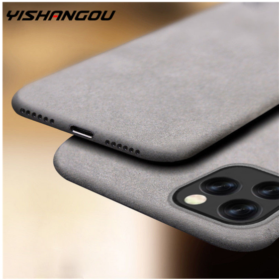 Mobile Case Ultra-Thin Sandstone Matte Case Back Cover Soft Cover Scrub Cover For iPhone 11 6S 7 8 XR XS Max Plus 5s Phone Case
