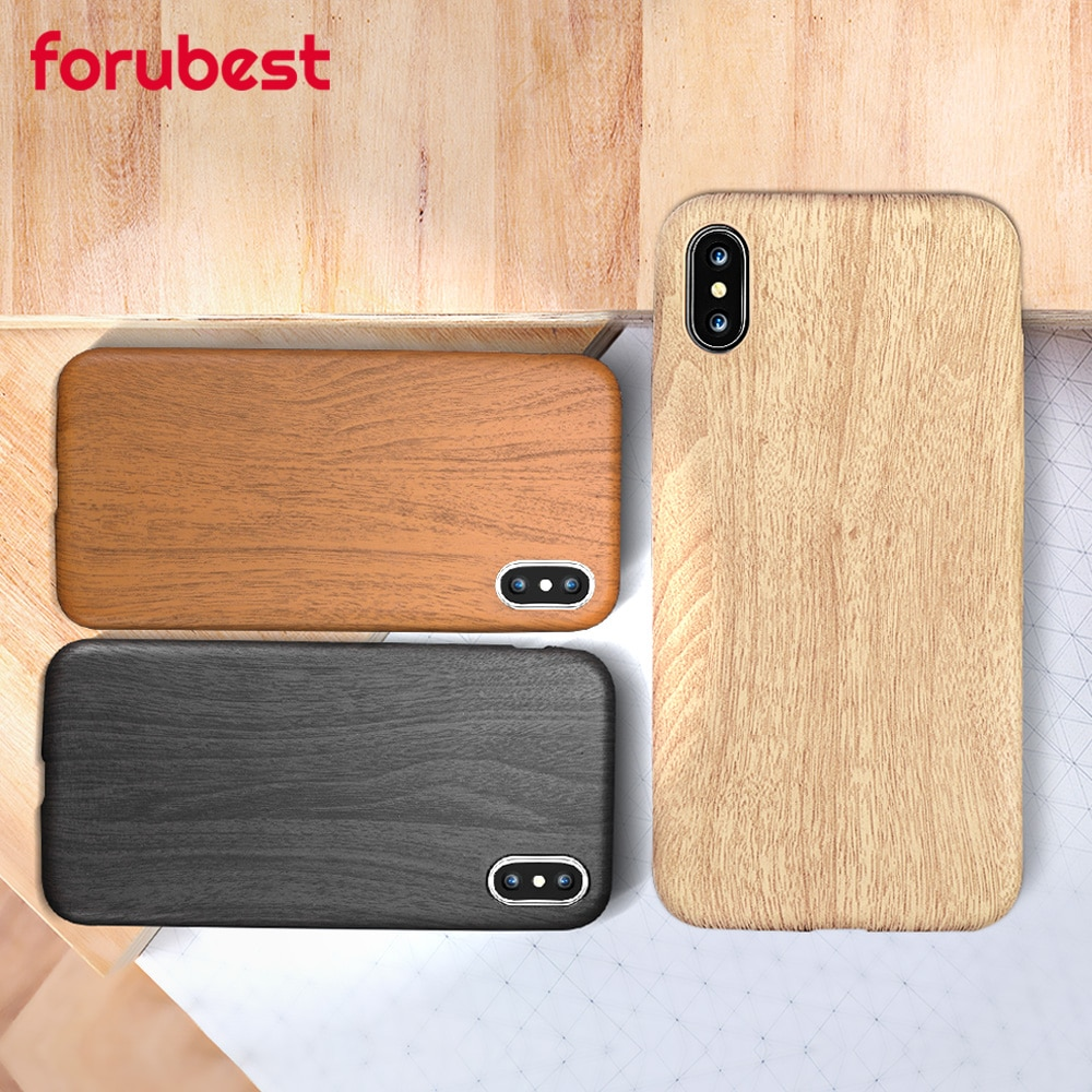 Vintage Wood Texture Pattern Leather Cases For iPhone 7 6 6S Plus Case Soft Retro Wood Cover For iPhone 8 X XS MAX XR 11 Pro MAX