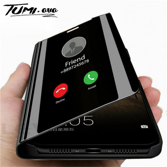Smart Mirror Flip Phone Case For iphone 6 6s Plus 7 8 X XS XR Protective Holder Smart Mirror Flip Phone Case For iphone 6 6s Plus 7 8 X XS XR Protective Holder Standing Case For iphone XS Max 11 Pro Cover.