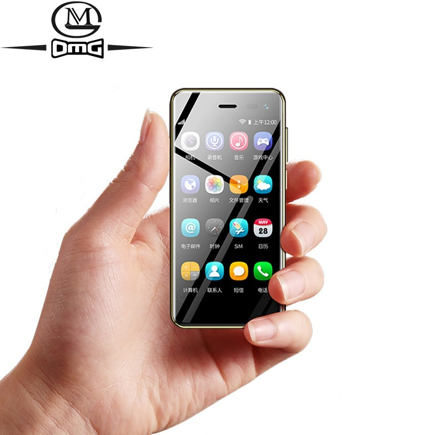 3.5 inch touch small mini mobile cell phone 4G smartphone android 8.1 phones Quad Core cellphone Unlock Dual SIM telephone UU