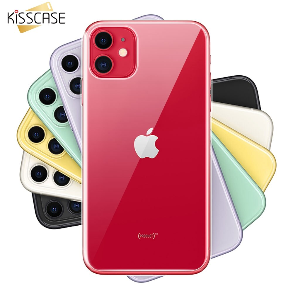 Soft Silicone Case For iPhone 11 Pro Max XR XS Max X 7 8 11 Pro 11 Original Shockproof Funda For iPhone 5S 6S 6 7 8 Plus XS Case