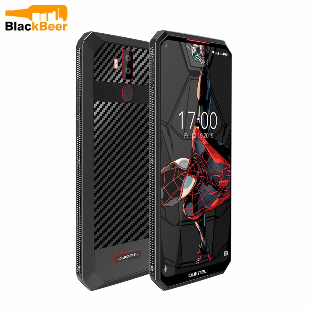 """OUKITEL K13Pro K13 Pro Android 9.0 Smartphone 6.41"""" 4G LTE Mobile Phone 4GB 64G ROM MT6762 11000mAh 5V/6A Quick Charge Cellphone"""