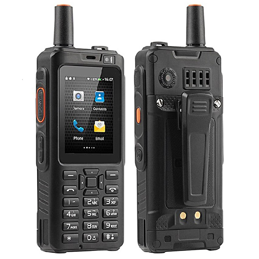 shockproof Mobile Phone 4000mAh Zello Walkie Talkie Android 6.0 GPS 4G rugged Smartphone Quad Core Dual SIM F40 cellphone