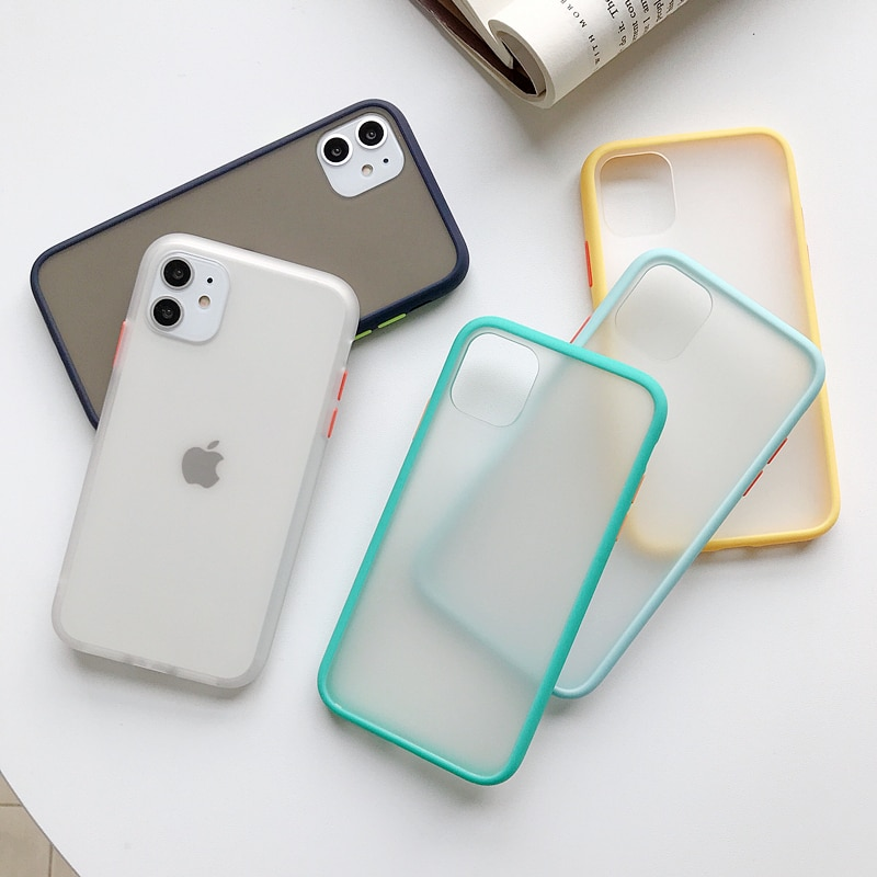 Transparent Shockproof Phone Case For iPhone 11 Pro X XR XS Max 6
