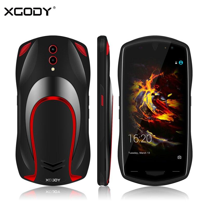 XGODY X25 3G Dual Sim Smartphone Android 8.1 5.0 Inch Cell Phones 1GB RAM 8GB ROM Quad Core 5MP Camera Car Model Mobile Phone