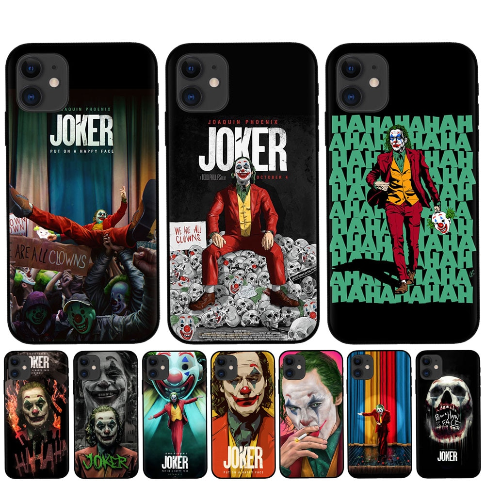RUIXKJ For Coque iPhone XR X XS 11 Pro Max Case Funny Joker 2019 For Funda iPhone 8 7 6 6S Plus 5S SE Cover For iPhone XR Cases