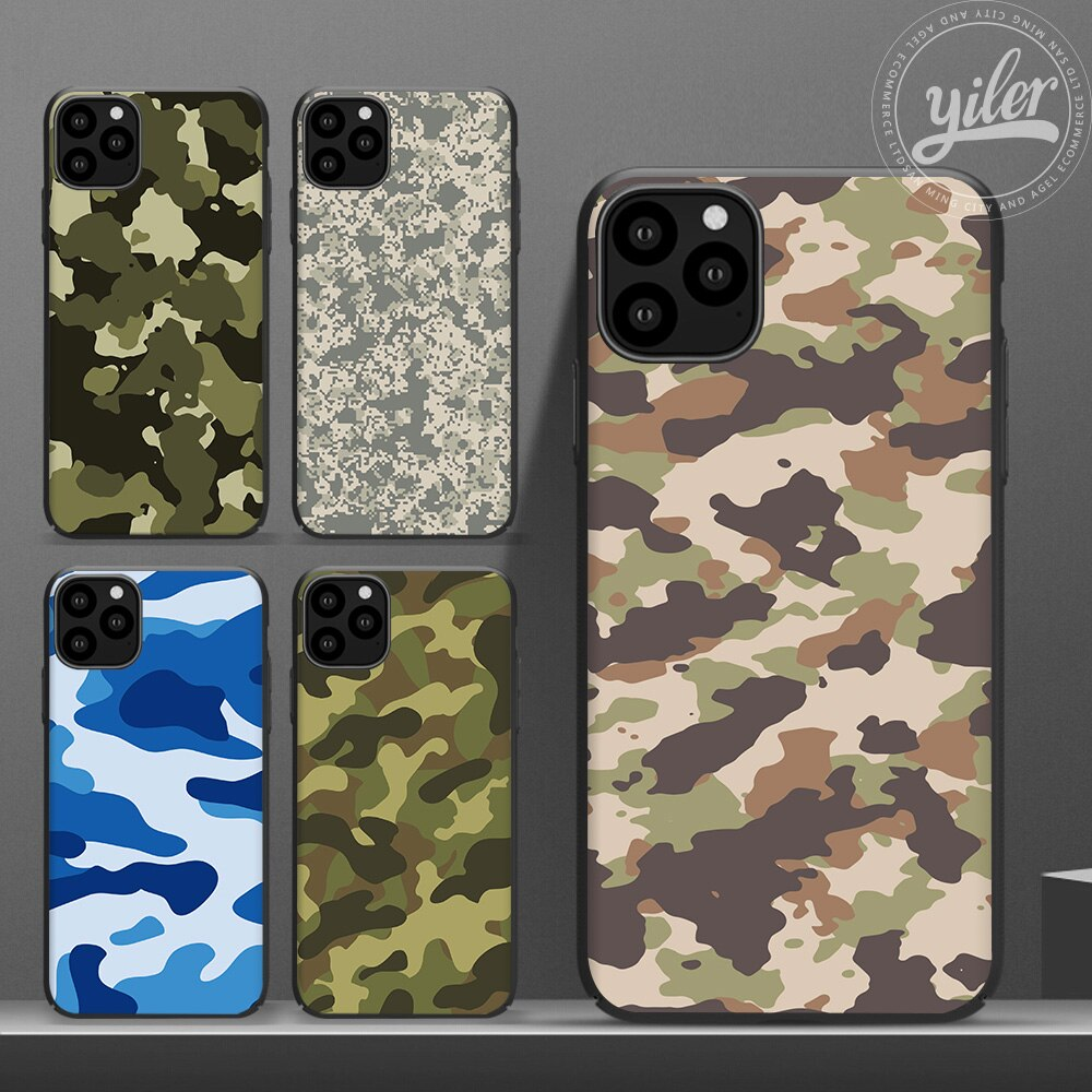 Army Coque For iPhone Xs 11 Pro Max Case For iPhone 7 Case Cover For Funda iPhone XR case for iPhone X SE 5S 6 7 8 Plus XS Cases