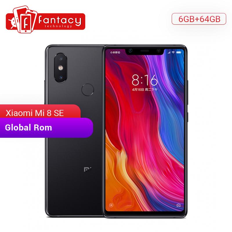 "Global Rom Xiaomi Mi 8 SE 6GB 64GB Snapdragon 710 Octa Core 5.88"" AMOLED Full Screen Smartphone Quick Charge 3.0 MIUI"