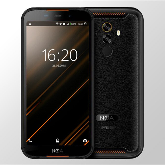 "Hummer 2019 Rugged Smartphone IP68 Waterproof 4500mAh android 9.0 MTK6739V 3GB RAM 16GB ROM 5.5""HD IPS NFC 13MP 4G mobile phone"