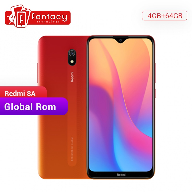 "Global Rom Xiaomi Redmi 8A 8 A 4GB 64GB 6.22"" Full Screen Snapdargon 439 Octa core Mobile Phone 5000mAh 12MP Camera Smartphone"