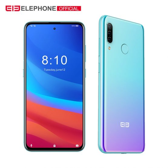 """ELEPHONE A7H Helio P23 4GB RAM 64GB ROM 6.4"""" Octa Core Android 9.0 3900mAh Fast Charging Fingerprint Recognition Smartphone"""