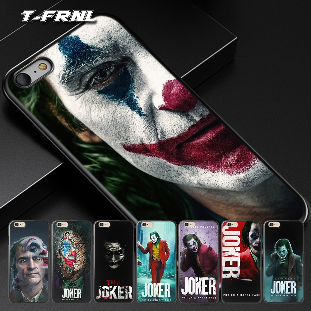 For fundas iPhone 11 case 2019 Joker for iPhone X case for coque iPhone XR case 5 5S SE 6 7 8 Plus XS 11 Pro Max case