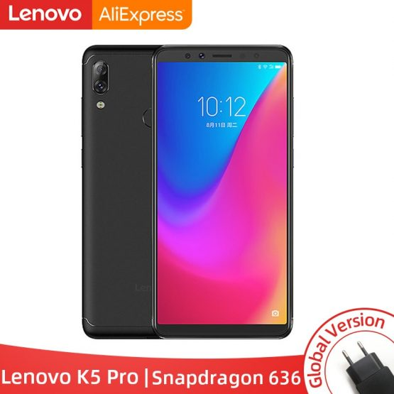 Version Lenovo K5 Pro 6GB 64GB Snapdragon636 Octa Core Smartphone Four Cameras Global Version Lenovo K5 Pro 6GB 64GB Snapdragon636 Octa Core Smartphone Four Cameras 5.99 inch 4G Phones 4050mAh.