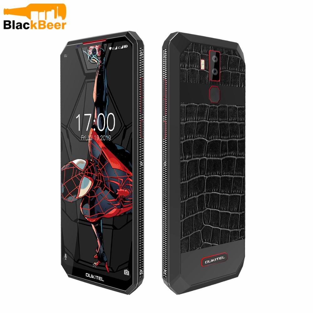 OUKITEL K13 Pro 6.41 Inch Mobile Phone Android 9.0 4G LTE Cellphone MT6762 4G RAM 64G ROM 11000mAh Type-C NFC Face ID Smartphone