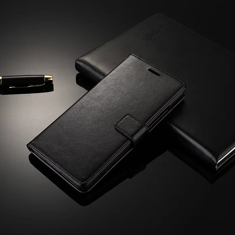 Leather Wallet Phone Case For iPhone 5 5S SE 6 6S Plus 7 8 Plus Shell Cover For iPhone X XS Max Case 11 Pro Max Flip Stand Book
