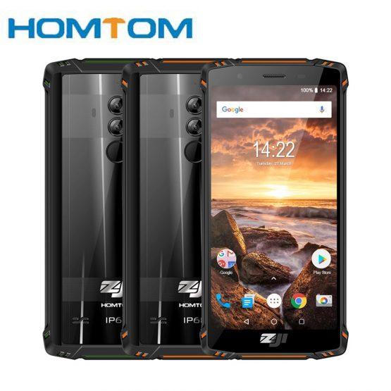 "HOMTOM ZOJI Z9 Helio IP68 Waterproof Octa Core 5.7"" 6GB 64GB 5500mAh 4G FDD LTE Face ID Fingerprint Smartphone Mobile Phone"