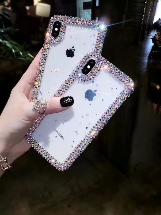 Bling Stars Sequins diamonds Pearl phone case for iphone Bling Stars Sequins diamonds Pearl phone case for iphone 11 Pro X Xs Max XR Case for Samsung Note 9 10 8 S8 S9 S10 M30S M20 M10S.
