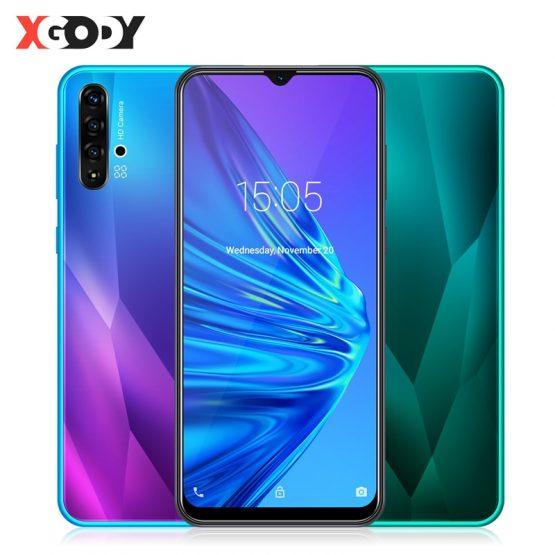 XGODY 6.5 Inch Waterdrop Smartphone Android 9.0 1GB 4GB Quad Core XGODY 6.5 Inch Waterdrop Smartphone Android 9.0 1GB 4GB MTK6580 Quad Core 5MP Camera 3000mAh GPS WiFi 3G Big Screen Mobile Phone.