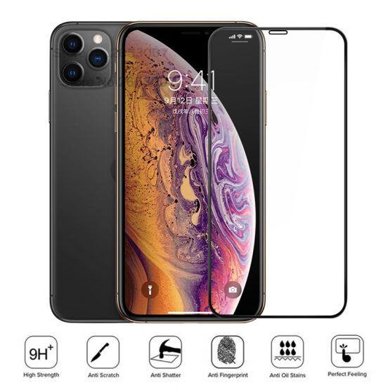 Full Cover Tempered Glass For iPhone 11 Pro Max 11 Pro Screen Protector Case Glass Film For iPhone 11 Pro Max 5.8 6.1 6.5'' 2019