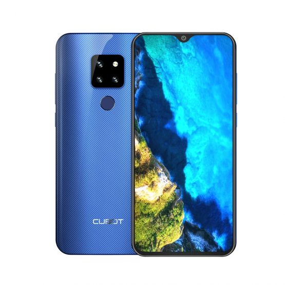 """Cubot P30 Smartphone 6.3"""" Waterdrop Screen 2340x1080p 4GB+64GB Android 9.0 Pie Helio P23 AI Rear Triple Cameras Face ID 4000mAh"""