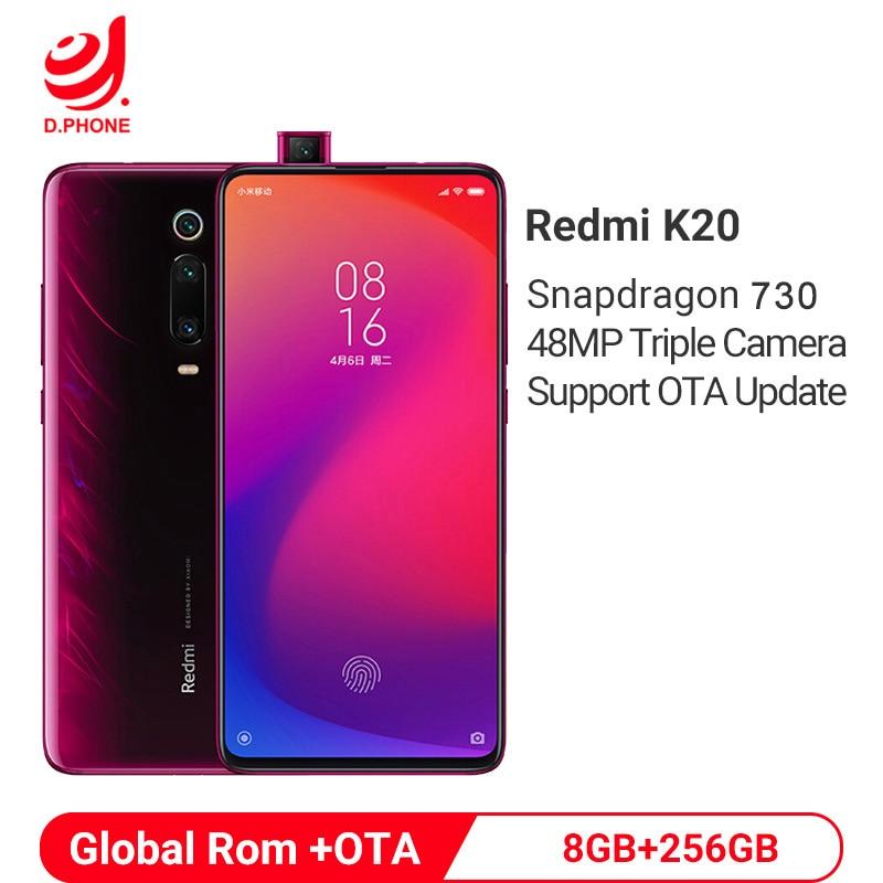 """Global Rom Xiaomi Redmi K20 8GB 256GB Snapdragon 730 Octa Core 4000mAh Pop-up Front Camera 48MP Camera AMOLED 6.39"""" Smartphone"""