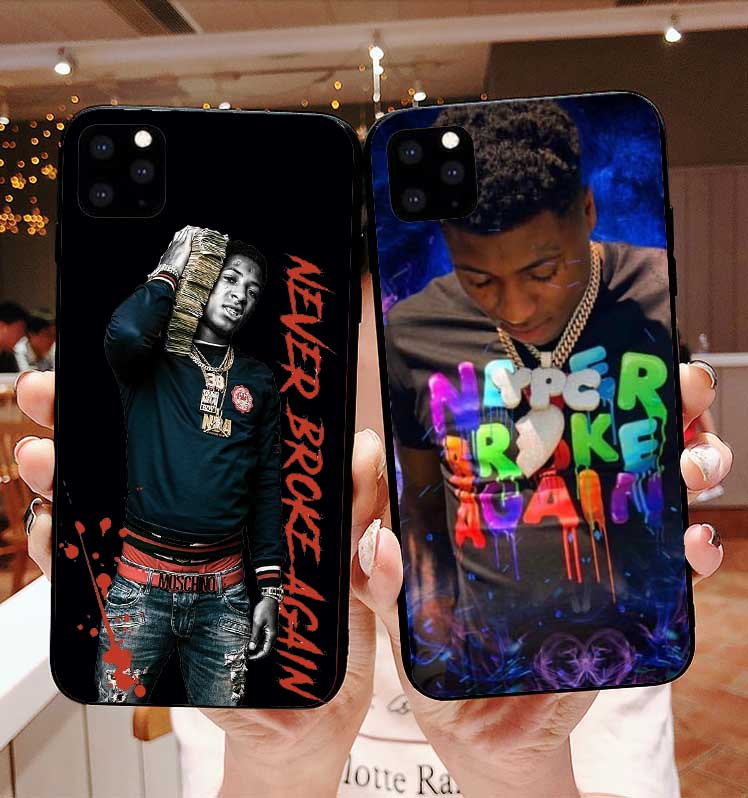 NBA Youngboy Never Broke Again Merch 38 silicone TPU phone cover case for iPhone 11 Pro MAX SE 5 5S 6 6SPlus 7 8Plus MAX XR XS X