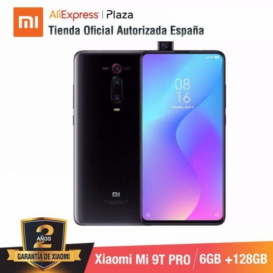 Global Version for Spain] Xiaomi Mi 9T PRO (Memoria interna de 128GB, RAM de 6GB, Triple cámara de 48 MP con IA) smartphone