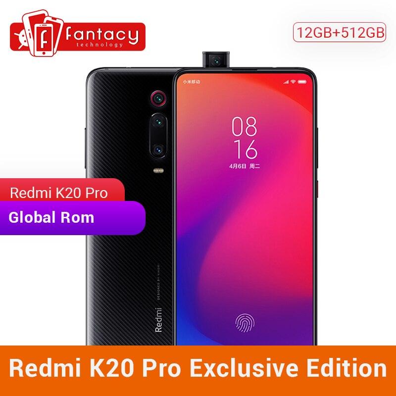 Privilege Edition Xiaomi Redmi K20 Pro 12GB 512GB Snapdragon 855 Plus SmartPhone 6.39 Inch AMOLED 48MP Triple Camera 4000mAh