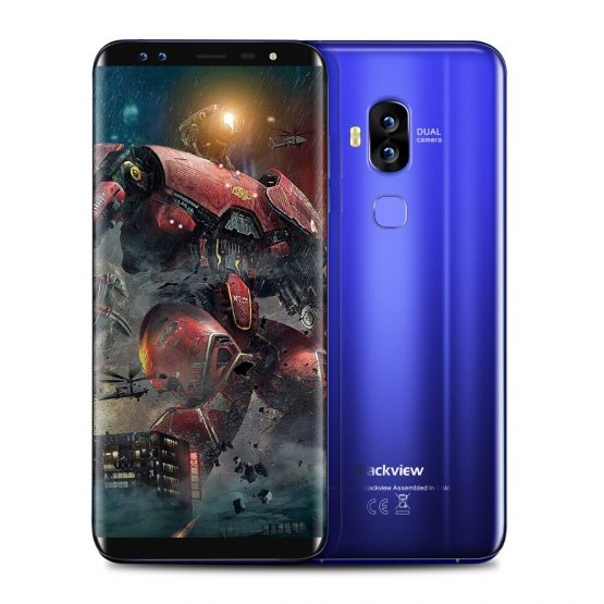 Blackview S8 4G LTE Smartphone 5.7'' 18:9 Full Screen Octa Core 1.5GHz 4GB RAM 64GB ROM 4 Cameras Android 7.0 Mobile Phone