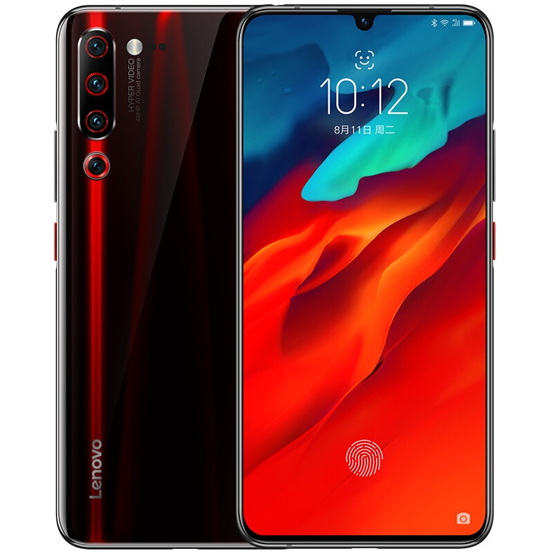 "Lenovo Z6 Pro L78051 8GB 128GB Global Rom Snapdragon 855 Octa Core Game phone 6.39"" OLED 48MP Quad Cameras Smartphone 4000mAh"