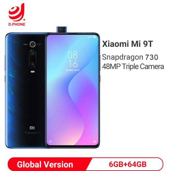 Original Global Version Xiaomi Mi 9T 9 T 6GB 64GB Snapdragon 730 Octa Core 6.39'' AMOLED 48MP Cameras 4000mAh NFC Smartphone
